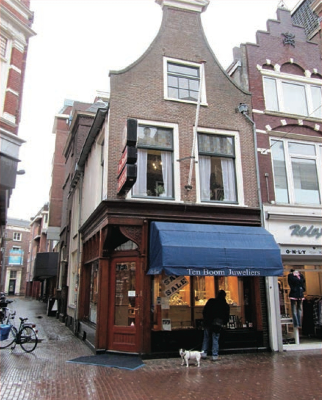 The Ten Boom shop in Haarlem is now a museum